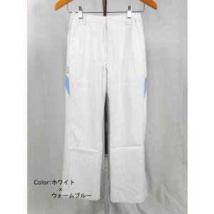 白衣 サイズ:M(股下:68cm) レディスパンツ CHM151-0104 アシックス(asics)|gaw