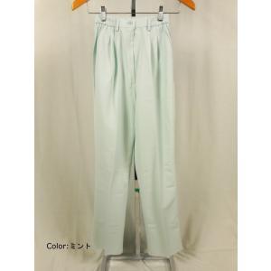 白衣 サイズ:M(股下68cm) 女性パンツ 72-099 住商モンブラン(MONTBLANC)|gaw
