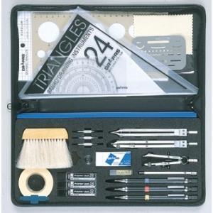 ドラパス オール・イン・ワン製図器 10本組 25品 05-3001|gazai-yh