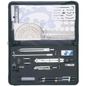 ドラパス オール・イン・ワン製図器 9本組 21品 05-3504|gazai-yh