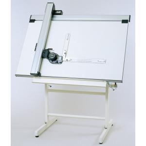 トラックタイプ製図機械セット DR-700S(製図台+マグネット製図板付き) 09-012|gazai-yh