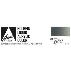 ホルベイン エアーブラシ用絵具 エアロフラッシュ35ml E066 グレイNo.4