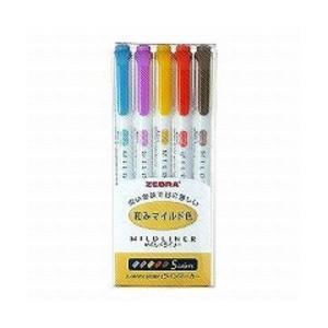 ゼブラ 蛍光ペン マイルドライナー 和みマイルド...の商品画像