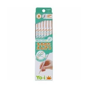 トンボ鉛筆 鉛筆 Yo-i もちかた B 六角軸 右手左手兼用 KE-KY02-B 1ダース/メール便送料無料|gazaiya