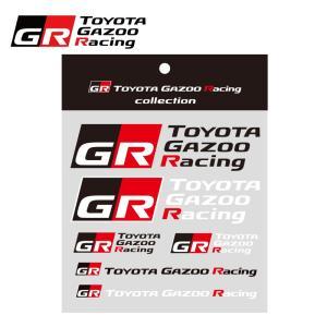 TOYOTA GAZOO Racing ロゴステッカーセットA
