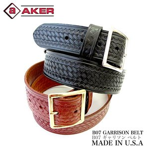 エイカー AKER B07 ギャリソン レザーベルト  革ベルト gb-int