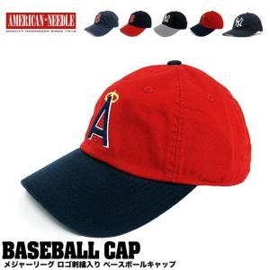 AMERICAN NEEDLE  アメリカンニードル MLB ロゴ刺繍 チノキャップ 帽子|gb-int