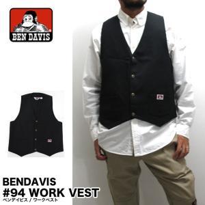 BEN DAVIS ベンデイビス 94 ワークベスト|gb-int