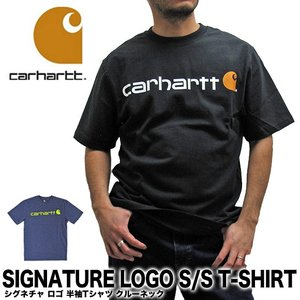 カーハート Carhartt K195 シグネチャ ロゴ 半袖Tシャツ SIGNATURE LOGO SHORT-SLEEVE T-SHIRT (メール便対応)|gb-int