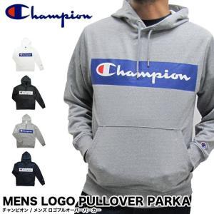 Champion チャンピオン C3-NS122 メンズ ロゴプルオーバーパーカー LOGO PULLOVER PARKA[メール便不可]|gb-int
