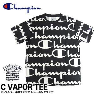 【メール便送料無料】Champion チャンピオン  C3-PS322 C VAPOR TEE Cベイパー Tシャツ|gb-int