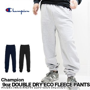 Champion チャンピオン P900 9oz DOUBLE DRY ECO FLEECE PANTS 9オンス ダブルドライ エコフリースパンツ スウェットパンツ ジョガーパンツ P1022 C3-C215|gb-int