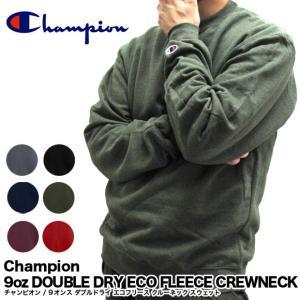 Champion チャンピオン S600 9oz DOUBLE DRY ECO FLEECE CREWNECK 9オンス ダブルドライ エコフリース クルーネック S0888 C3-C019 S2465|gb-int