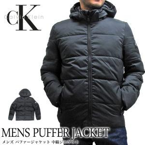 Calvin Klein Jeans カルバンクラインジーンズ 41J1541 メンズ パファージャケット PUFFER JACKET ダウンジャケット(メール便不可)|gb-int