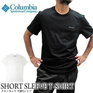 Columbia コロンビア 半袖Tシャツ クルーネック RM8C701  ショートスリーブ シャツ(メール便対応)|gb-int