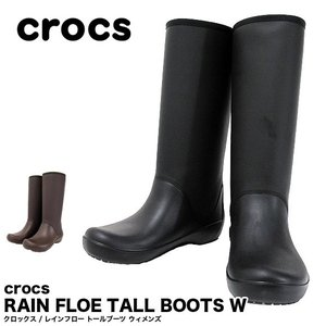 crocs クロックス ウィメンズ レインブーツ レインフロ...