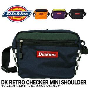 【1点までメール便送料無料】Dickies ディッキーズ 14063100 ディッキーズ レトロチェッカー ミニショルダー DICKIES RETRO CHECKER MINI SHOULDER BAG gb-int