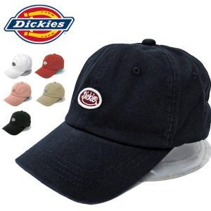 【1点までメール便送料無料】Dickies ローキャップ スマイルワッペン 17784800 DICKIES LOW CAP SMILE WAPPEN(メール便対応) gb-int