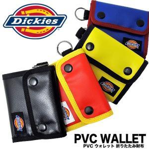 Dickies ディッキーズ 財布 DS001EN PVC ウォレット PVC WALLET 折りたたみ財布(メール便対応)|gb-int