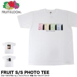 メール便送料無料 FRUIT OF THE LOOM フルーツオブザルーム 0122-513FLPH フォト プリント 半袖 Tシャツ|gb-int