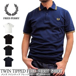 FRED PERRY フレッドペリー ポロシャツ メンズ TWIN TIPPED FRED PERR...