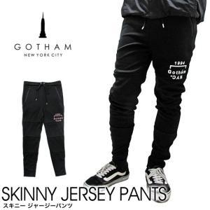 GOTHAM NYC ゴッサムニューヨークシティ SKINNY JERSEY PANTS スキニー ...