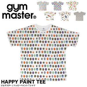 メール便送料無料 ジムマスター gym master  ハッピーペイント 半袖 Tシャツ  G733303|gb-int