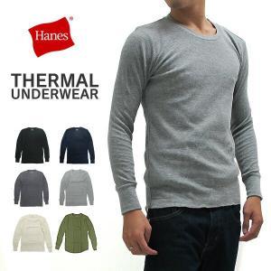ヘインズ HANES サーマル Tシャツ 長袖 HM4-G501 (メール便対応)|gb-int