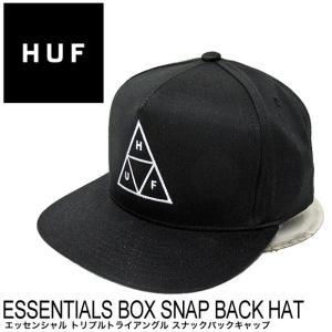 ハフ キャップ HUF トリプルトライアングル スナックバックキャップ HT00344 BBキャップ 帽子|gb-int