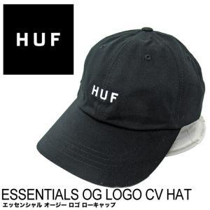 ハフ キャップ HUF エッセンシャル オージー ロゴ ローキャップ HT00345 帽子|gb-int
