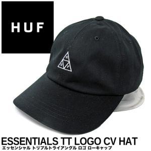 ハフ キャップ HUF エッセンシャル トリプルトライアングル ロゴ ローキャップ HT00346 帽子|gb-int