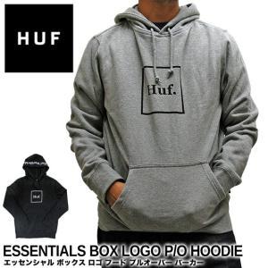 ハフ パーカー HUF エッセンシャル ボックス ロゴ フード PF00098 プルパーカー|gb-int