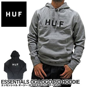 ハフ パーカー HUF エッセンシャル オージー ロゴ プルオーバー フーディー PF00099 プルパーカー|gb-int