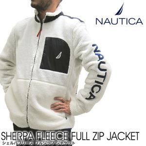 NAUTICA ノーティカ ボアフリースジャケット K83972 シェルパフリースジャケットフルジップ (メール便不可)|gb-int