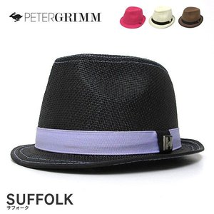PETER GRIMM PGF1260 SUFFLOK サフォーク ストローハット|gb-int
