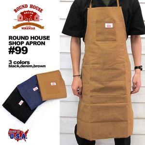 ラウンドハウス ROUND HOUSE 99 ショップ エプロン|gb-int