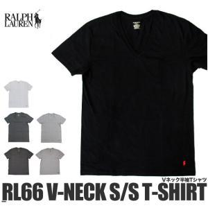 ラルフローレン Tシャツ 半袖 Vネック RL66 (メール便対応)|gb-int
