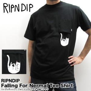 RIPNDIP リップンディップ 半袖Tシャツ Falling For Nermal Tee Shirt フォーリングナーマル RND2068 (メール便対応) gb-int