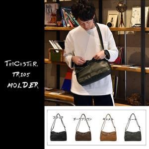 TRICKSTER トリックスター コンパクトショルダーバッグ tr105 MOLDER モルダー  BRAVE Collection ノーブルコレクション|gb-int