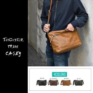 TRICKSTER トリックスター スクエアショルダーバッグ tr106 CASEY ケーシー Brave Collection|gb-int