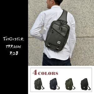 TRICKSTER トリックスター ボディバッグ trr1606 ROB ロブ  Brave Collection ブレイブコレクション|gb-int