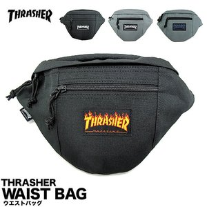 1点までメール便送料無料 スラッシャー THRASHER ウエストバッグ ヒップバッグ THRFL3900|gb-int
