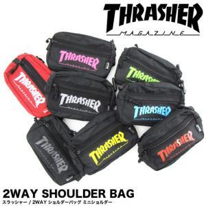1点までメール便送料無料 THRASHER スラッシャー バッグ ショルダーバッグ ミニショルダーバッグ THRSG-400|gb-int