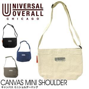 【メール便送料無料】UNIVERSAL OVERALL ユニバーサル オーバーオール UV008CE CANVAS MINI SHOULDER BAG キャンバス ミニショルダーバッグ gb-int