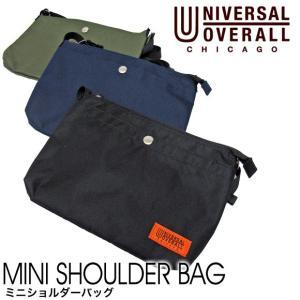 【メール便送料無料】UNIVERSAL OVERALL ユニバーサル オーバーオール UV331QG MINI SHOULDER BAG ミニショルダーバッグ gb-int