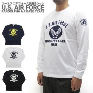U.S. AIR FORCE ユーエスエアフォース  長袖 Tシャツ gb-int
