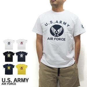 U.S. ARMY  ユーエスアーミー  半袖 Tシャツ U.S. AIR FORCE ユーエスエアフォース (メール便対応)|gb-int