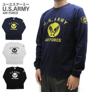 U.S. ARMY ユーエスアーミー  長袖 Tシャツ (メール便対応) gb-int