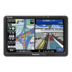 パナソニック Panasonic 7.0型ワイドVGA ワンセグチューナー内蔵 SSDポータブルナビゲーション Gorilla CN-G1300VD gbft-online