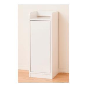 クロシオ 鏡面モデム収納ラック スリム ホワイト 幅30 cm 電話台 モデムラック gbft-online